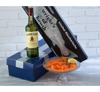 Smoked Salmon & Jameson Gift Box