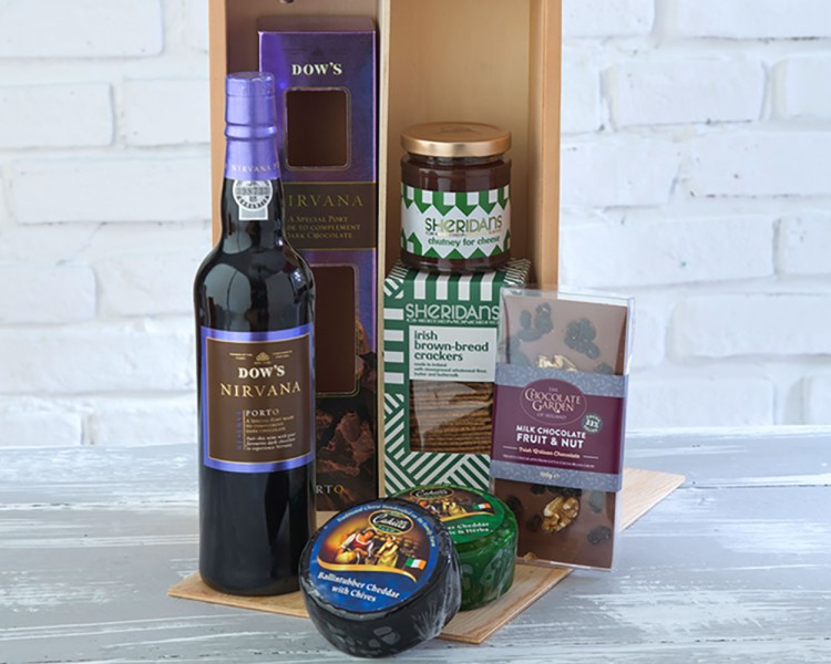 Cheese & Port Gift Box